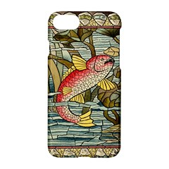 Fish Underwater Cubism Mosaic Apple Iphone 8 Hardshell Case by Celenk