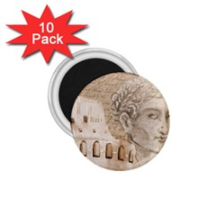 Colosseum Rome Caesar Background 1 75  Magnets (10 Pack)  by Celenk