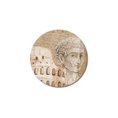 Colosseum Rome Caesar Background Golf Ball Marker (4 Pack) by Celenk