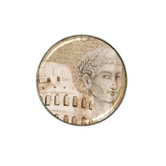 Colosseum Rome Caesar Background Hat Clip Ball Marker (4 Pack) by Celenk