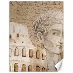 Colosseum Rome Caesar Background Canvas 18  X 24   by Celenk