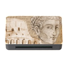 Colosseum Rome Caesar Background Memory Card Reader With Cf by Celenk