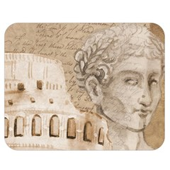 Colosseum Rome Caesar Background Double Sided Flano Blanket (medium)  by Celenk