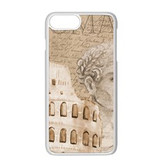 Colosseum Rome Caesar Background Apple Iphone 8 Plus Seamless Case (white) by Celenk