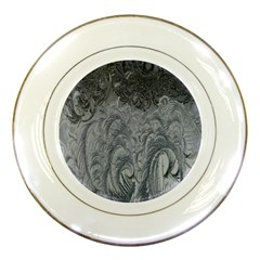 Abstract Art Decoration Design Porcelain Plates by Celenk