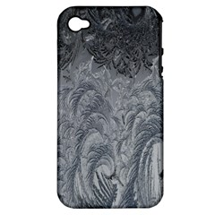 Abstract Art Decoration Design Apple Iphone 4/4s Hardshell Case (pc+silicone) by Celenk