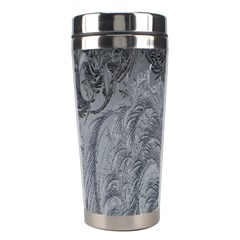 Abstract Art Decoration Design Stainless Steel Travel Tumblers by Celenk
