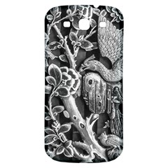 Black And White Pattern Texture Samsung Galaxy S3 S Iii Classic Hardshell Back Case by Celenk