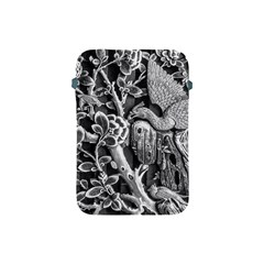 Black And White Pattern Texture Apple Ipad Mini Protective Soft Cases by Celenk
