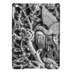 Black And White Pattern Texture Ipad Air Hardshell Cases by Celenk