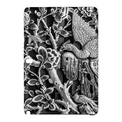 Black And White Pattern Texture Samsung Galaxy Tab Pro 10 1 Hardshell Case by Celenk