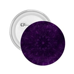 Background Purple Mandala Lilac 2 25  Buttons by Celenk