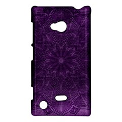 Background Purple Mandala Lilac Nokia Lumia 720 by Celenk