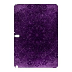 Background Purple Mandala Lilac Samsung Galaxy Tab Pro 12 2 Hardshell Case by Celenk