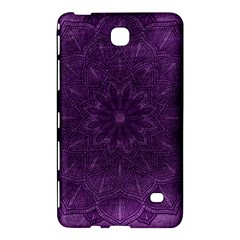 Background Purple Mandala Lilac Samsung Galaxy Tab 4 (7 ) Hardshell Case  by Celenk