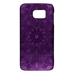 Background Purple Mandala Lilac Galaxy S6 by Celenk