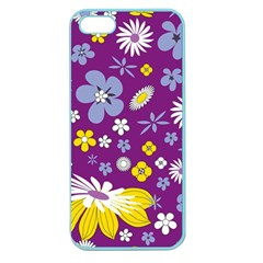 Floral Flowers Apple Seamless Iphone 5 Case (color) by Celenk