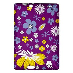 Floral Flowers Amazon Kindle Fire Hd (2013) Hardshell Case by Celenk