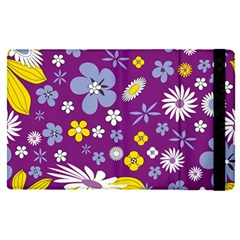 Floral Flowers Apple Ipad Pro 9 7   Flip Case