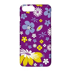 Floral Flowers Apple Iphone 8 Plus Hardshell Case by Celenk