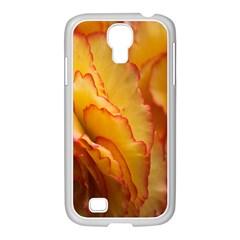 Flowers Leaves Leaf Floral Summer Samsung Galaxy S4 I9500/ I9505 Case (white) by Celenk