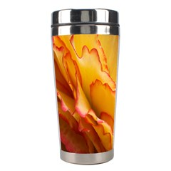 Flowers Leaves Leaf Floral Summer Stainless Steel Travel Tumblers by Celenk