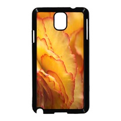 Flowers Leaves Leaf Floral Summer Samsung Galaxy Note 3 Neo Hardshell Case (black) by Celenk