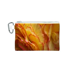 Flowers Leaves Leaf Floral Summer Canvas Cosmetic Bag (s) by Celenk
