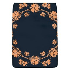 Floral Vintage Royal Frame Pattern Flap Covers (s)  by Celenk