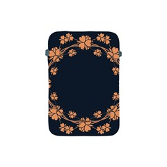 Floral Vintage Royal Frame Pattern Apple Ipad Mini Protective Soft Cases by Celenk