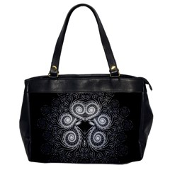 Fractal Filigree Lace Vintage Office Handbags