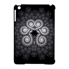 Fractal Filigree Lace Vintage Apple Ipad Mini Hardshell Case (compatible With Smart Cover) by Celenk