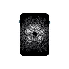 Fractal Filigree Lace Vintage Apple Ipad Mini Protective Soft Cases by Celenk