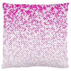 Halftone Dot Background Pattern Large Cushion Case (two Sides) by Celenk