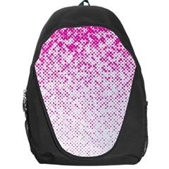 Halftone Dot Background Pattern Backpack Bag by Celenk