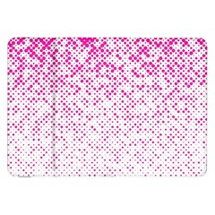 Halftone Dot Background Pattern Samsung Galaxy Tab 8 9  P7300 Flip Case by Celenk
