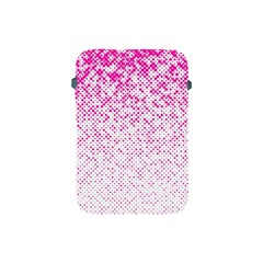 Halftone Dot Background Pattern Apple Ipad Mini Protective Soft Cases by Celenk