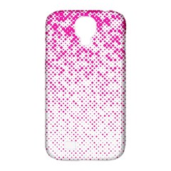 Halftone Dot Background Pattern Samsung Galaxy S4 Classic Hardshell Case (pc+silicone) by Celenk