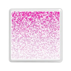 Halftone Dot Background Pattern Memory Card Reader (square)  by Celenk