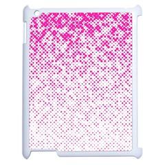 Halftone Dot Background Pattern Apple Ipad 2 Case (white) by Celenk