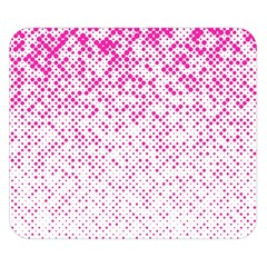 Halftone Dot Background Pattern Double Sided Flano Blanket (small)  by Celenk