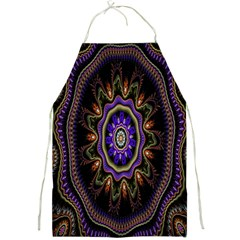 Fractal Vintage Colorful Decorative Full Print Aprons by Celenk