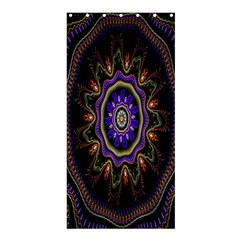 Fractal Vintage Colorful Decorative Shower Curtain 36  X 72  (stall)  by Celenk