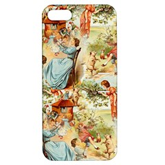 Seamless Vintage Design Apple Iphone 5 Hardshell Case With Stand by Celenk
