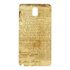 Vintage Background Paper Samsung Galaxy Note 3 N9005 Hardshell Back Case by Celenk