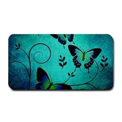 Texture Butterflies Background Medium Bar Mats by Celenk