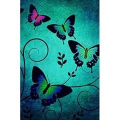 Texture Butterflies Background 5 5  X 8 5  Notebooks by Celenk