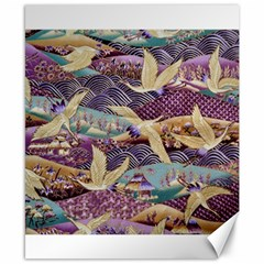 Textile Fabric Cloth Pattern Canvas 8  X 10  by Celenk