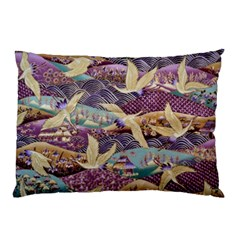 Textile Fabric Cloth Pattern Pillow Case (two Sides) by Celenk
