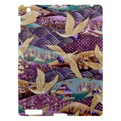 Textile Fabric Cloth Pattern Apple Ipad 3/4 Hardshell Case by Celenk